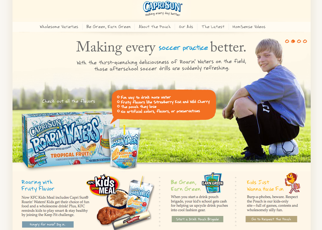 CapriSun Brand Strategy