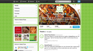 Naked Pizza Twitter Case Study