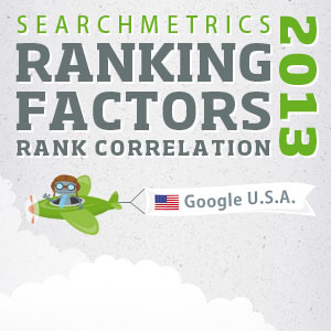 us search ranking factors 2013 correlation