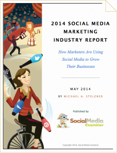 social media marketing industry report 2014